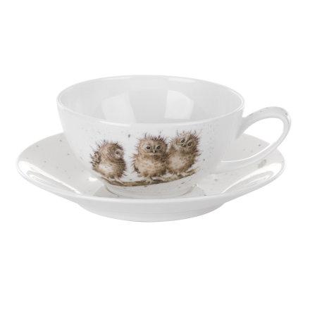 Wrendale Designs Cappuccino kopp & fat