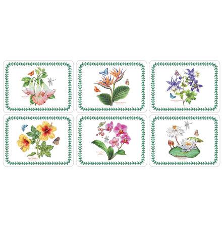 Exotic Botanic Garden Bordsunderlägg 6-pack
