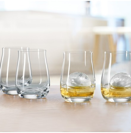 """Whiskyglas """"Single Barrel Bourbon"""" 4-pack"""