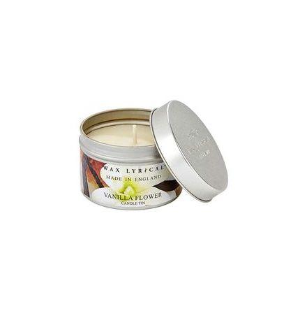 Fragranced Candle Tin Vanilla Flower Doftljus