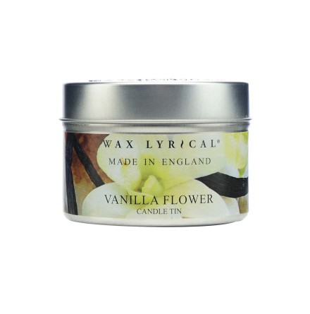 Fragranced Candle Tin Vanilla Flower Doftljus