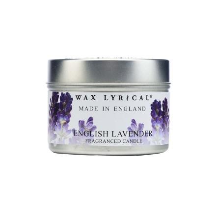 Fragranced Candle Tin English Lavender Doftljus
