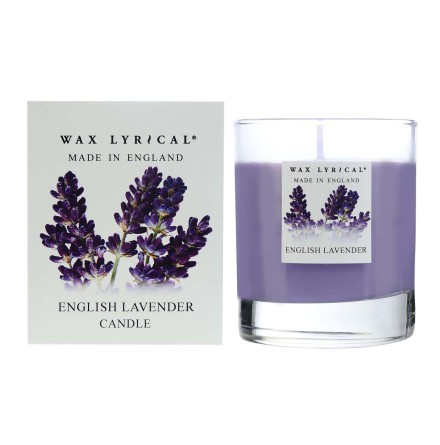 Fragranced Boxed Candle English Lavender Doftljus