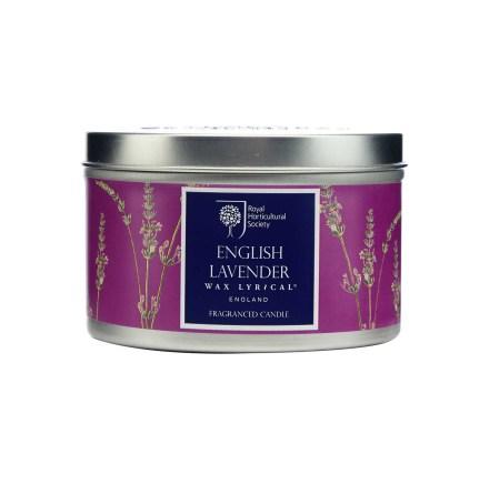 Fragranced Candle Tin Lavender Doftljus