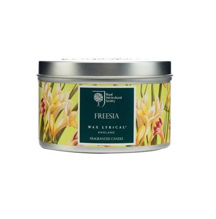 Fragranced Candle Tin Freesia Doftljus