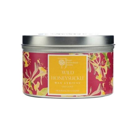 Fragranced Candle Tin Wild Honeysuckle Doftljus