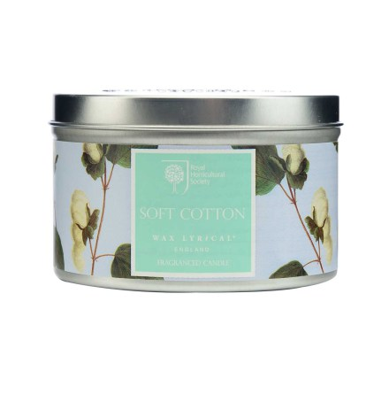 Fragranced Candle Tin Soft Cotton Doftljus