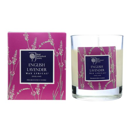 Fragranced Boxed Candle Lavender Doftljus