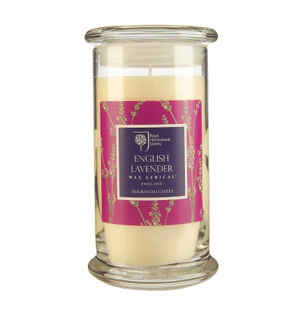 Fragranced Candle Jar English Lavender Doftljus