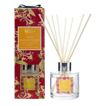 Fragranced Reed Diffuser Wild Honeysuckle Doftstickor