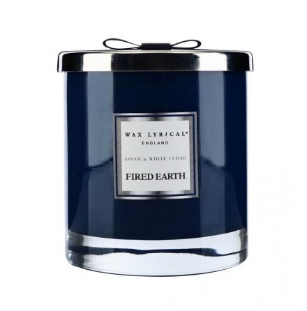 Large Fragranced Candle Jar Assam & White Cedar Doftljus med 2 vekar