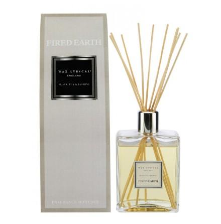 Large Fragranced Reed Diffuser Black Tea & Jasmine Doftstickor