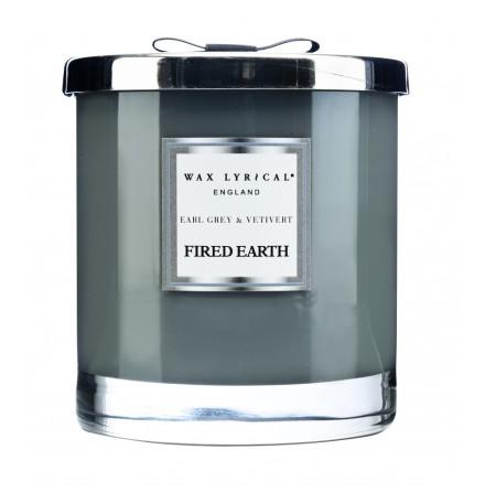 Large Fragranced Candle Jar Earl Grey & Vetivert Doftljus med 2 vekar