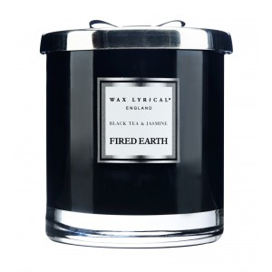 Large Fragranced Candle Jar Black Tea & Jasmine Doftljus med 2 vekar