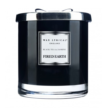 Large Fragranced Candle Jar Black Tea & Jasmine Doftljus med 2 vekar
