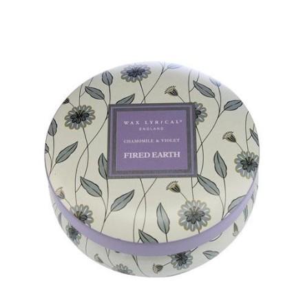 Fragranced Candle Tin Chamomile & Violet Doftljus