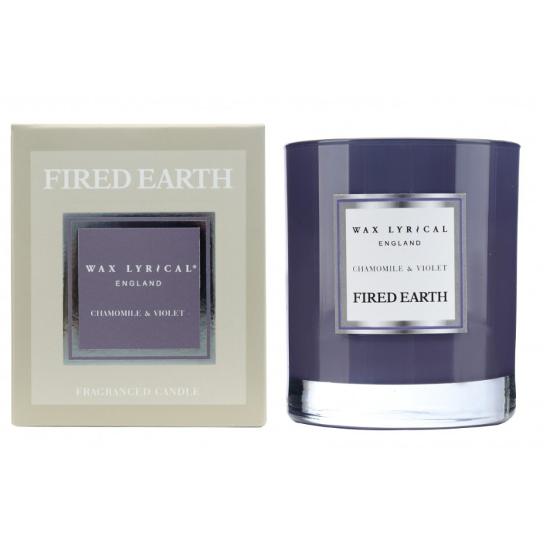 Fragranced Candle Jar Chamomile & Violet Doftljus