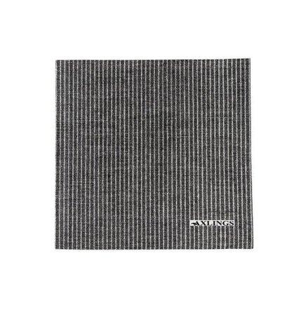 Pappservett svart-vit 50p 40x40