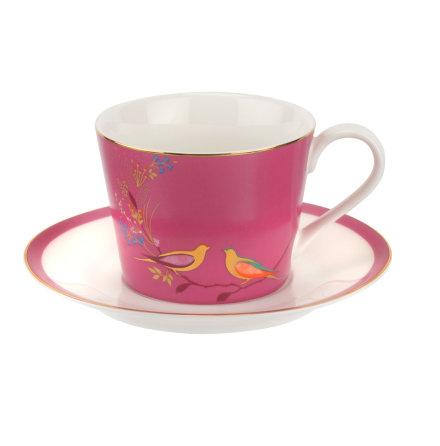 Sara Miller The Chelsea Collection Tekopp & fat - Pink 0.20l