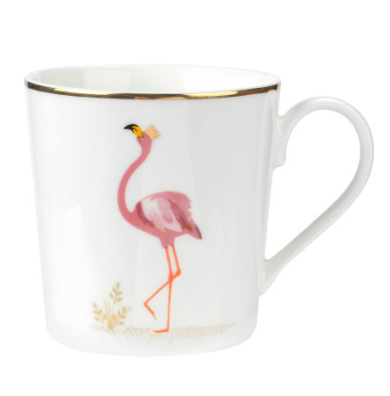 Sara Miller Piccadilly Flamboyant Flamingo 34cl