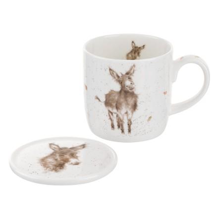 Wrendale Mug And Coaster Set - Gentle Jack