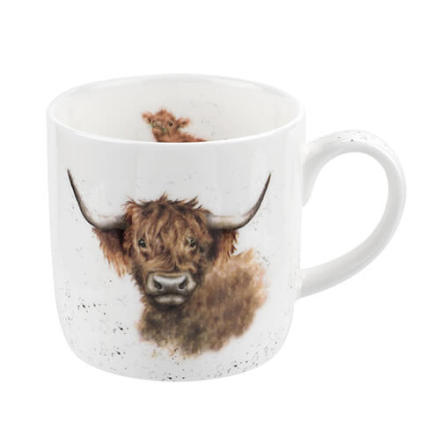 FBC Mug Wrendale Highland Coo Cow