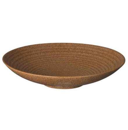 Studio Craft Chesnut Medium Ridged Bowl 25,5cm