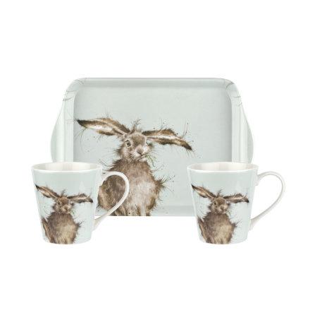 Wrendale Designs Mugg & Brickset Hare