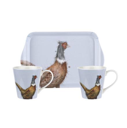 Wrendale Designs Mugg & Brickset - Pheasant