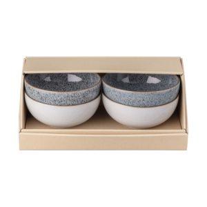 Studio Grey Skål 13 cm mixat 4-pack