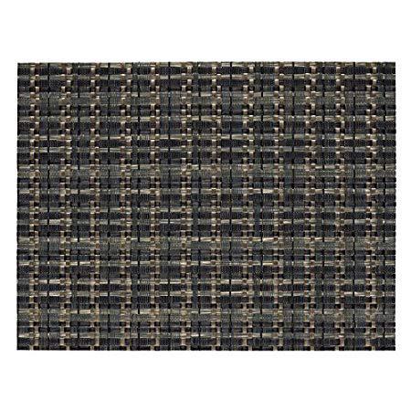 Bordstablett Edel Mörk Olivgrön/Svart 32x42cm