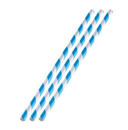 Sugrör papper Blå 36st