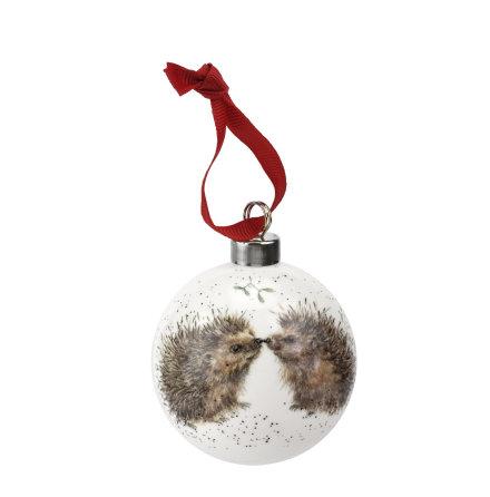 Wrendale Design Christmas Hedgehugs (hedgehog) 6.6cm