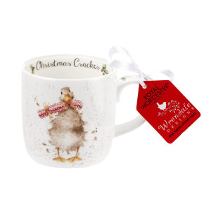 Wrendale Design Christmas Mugg Cracker Duck 0,31L