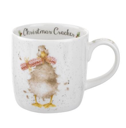 Wrendale Design Christmas Mugg Cracker Duck 0,31L
