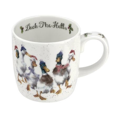 Wrendale Designs Mugg Duck the Halls (ducks) 0.31L