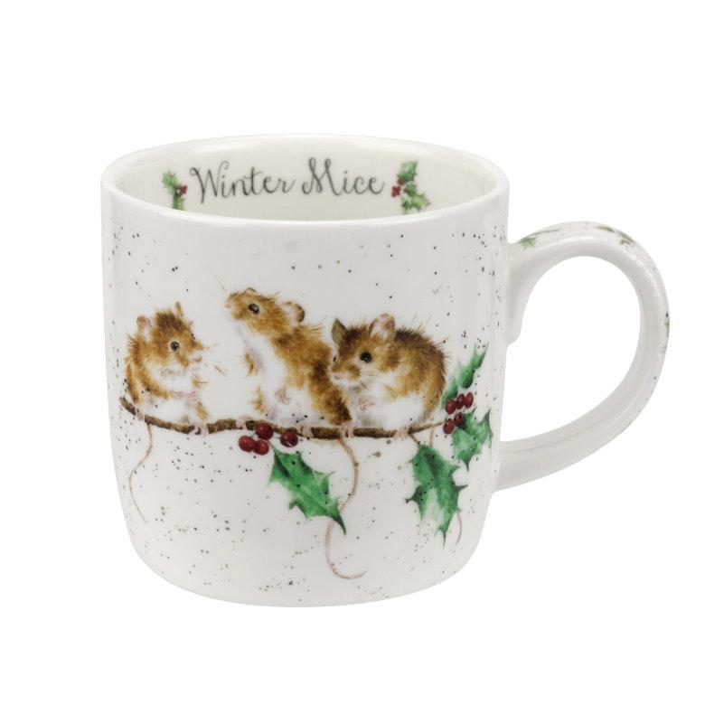 FBC Mugg Wrendale Designs Winter Mice 31cl