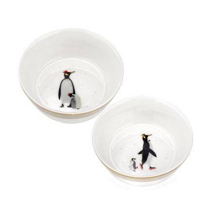 Sara Miller London Penguin Skål 10cm 2-pack