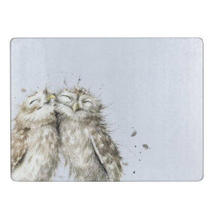 Wrendale Designs Worktop Saver Owl 30 x 40cm