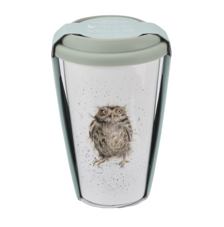 Wrendale Design To Go Mugg (Owl) 31cl
