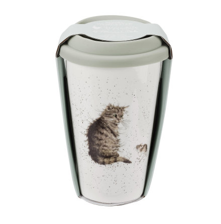 Wrendale Design To Go Mugg (Cat) 31cl