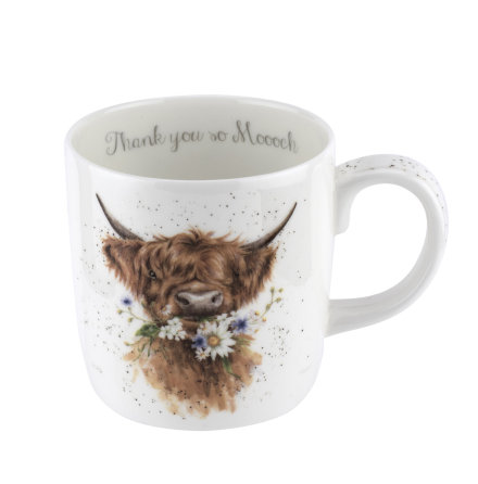 Wrendale Designs Mugg Thank You (Cow) 0.40L