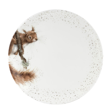 Wrendale Design Coupe Tallrik - Squirrel 26.7cm