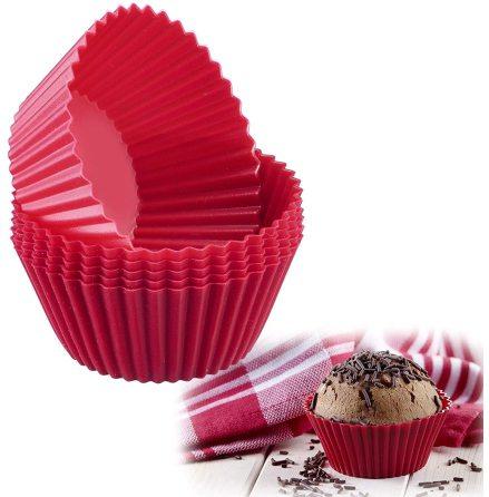 Muffinsform silikon 6-pack