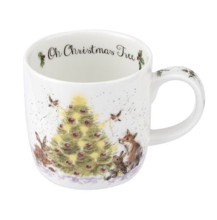Wrendale Mugg Oh Christmas Tree 0.31L