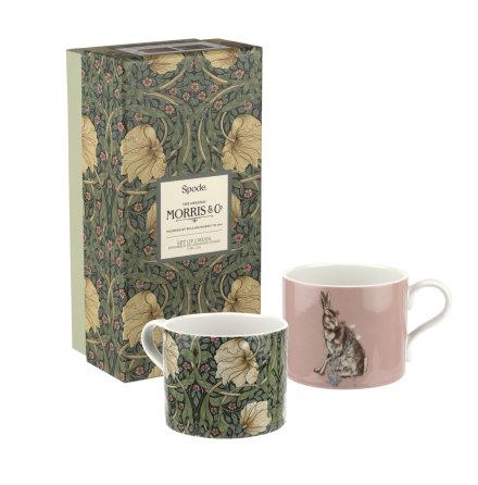 Morris & Co Muggar 2-pack Pimpernel & Forest Hare 0.34L