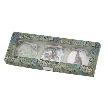 Morris & Co Juldekoration Wightwick 7cm 3-pack