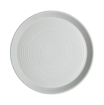 Impression Charcoal Spiral Tallrik 26cm 4-Pack