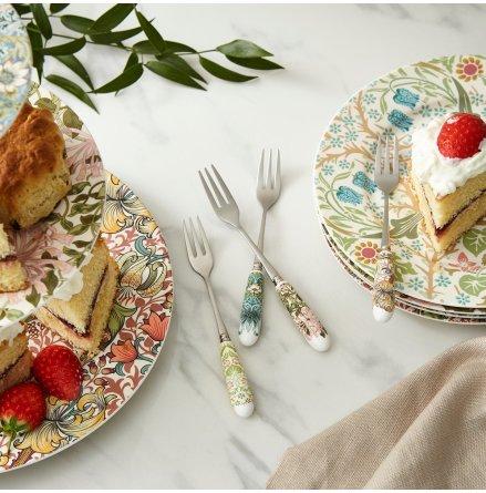 Morris & Co Dessertgafflar  4-pack 15cm