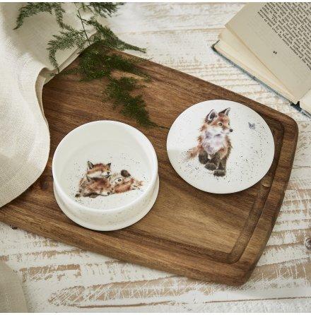Wrendale Design Smyckesask Med Lock (Fox) 8.5cm